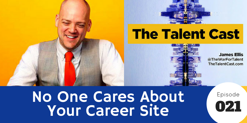 no one cares about your career site