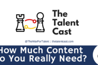 how much recruiting content does it take