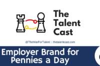 Employer brand for pennies a day