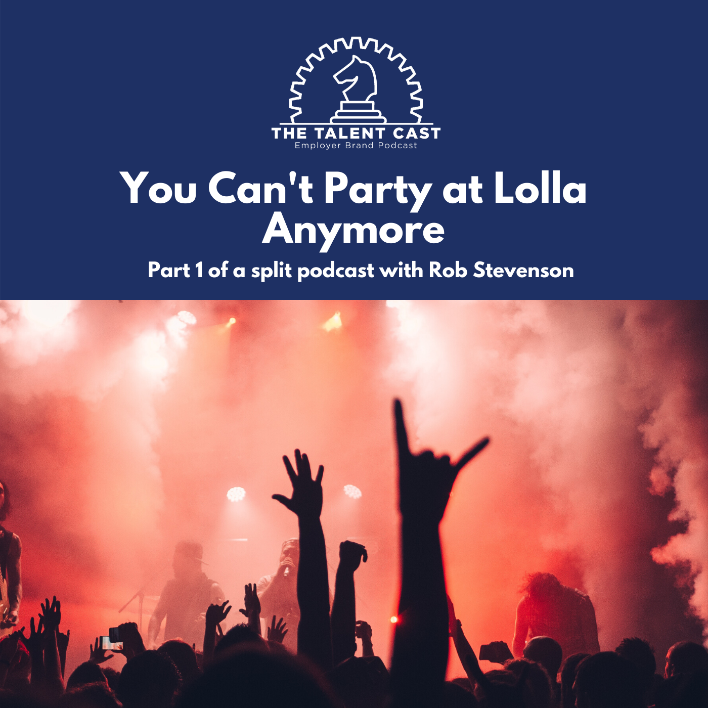 You can't party at lolla anymore with rob stevenson
